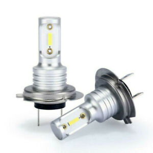 H7-LED-Headlight-Bulbs-Conversion-Kit-Hi-Lo-Beam-55W-8000LM-6000K-Super-Bright
