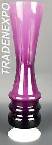 1970s-KARL-FRIEDRICH-KRISTALL-Pop-Art-Design-Purple-Vase-Space-Age-West-Germany