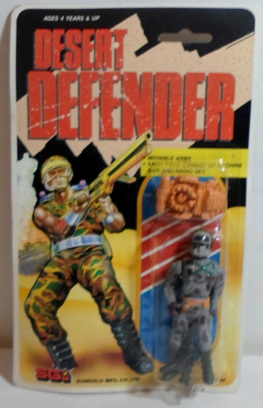 SGI SUNgold VTG 80's GI JOE DESERT DEFENDER ACTION FIGURE MOSC SEALED D