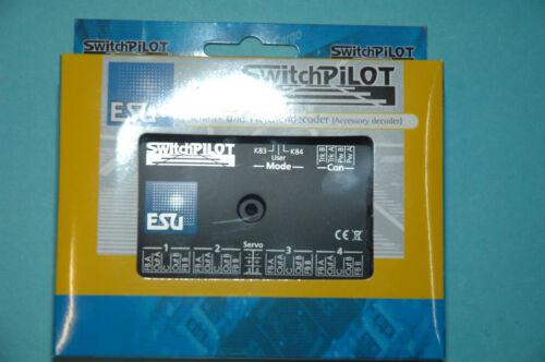 2 X Servo Dcc//Mm Neuf ESU 51820 Commutateur pilote 2.0 4 fois magnetartikedecoder