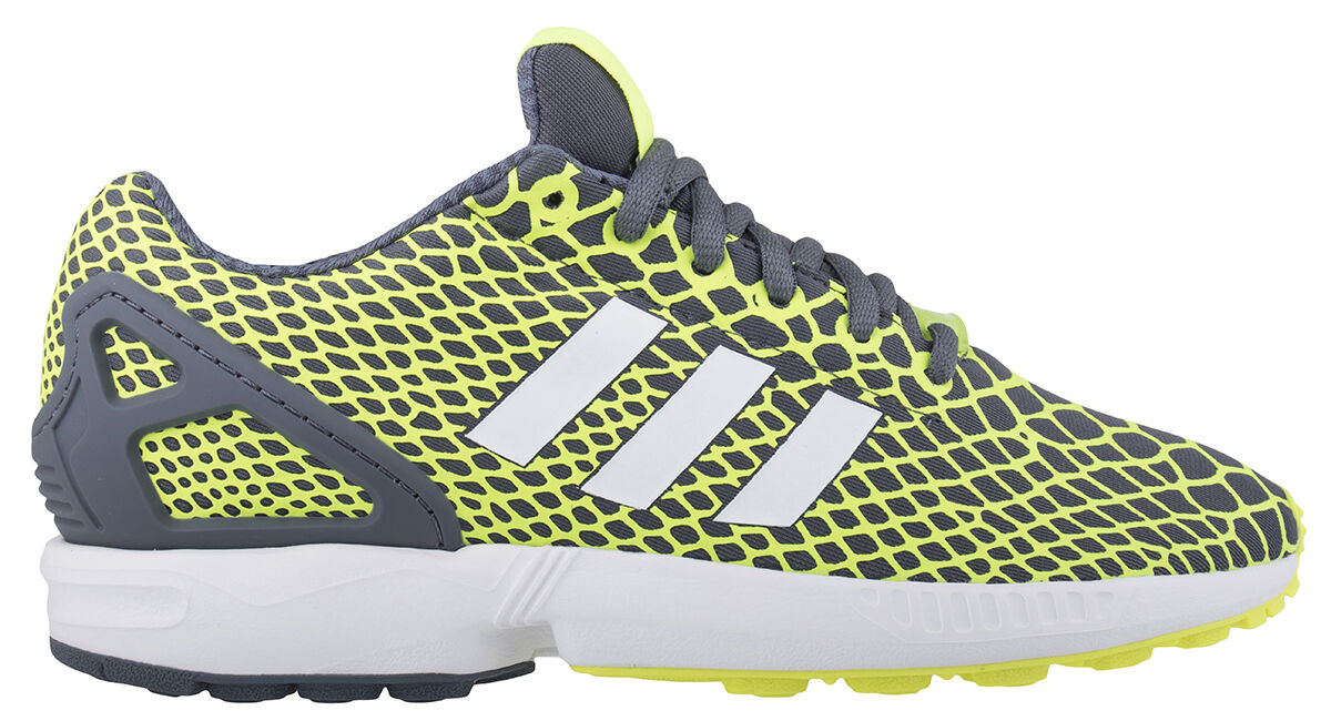 Adidas ZX FLUX Tech Turnschuhe Fit Herren  Sneaker Turnschuhe Tech Gelb/Schwarz  Textil  B24934 e1d36a