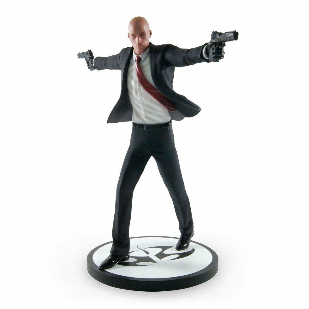 Auftragskiller agent 47 statue gaya entertainment
