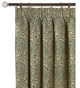 William Morris Willow Bough Minor Ready Made Curtains In 4