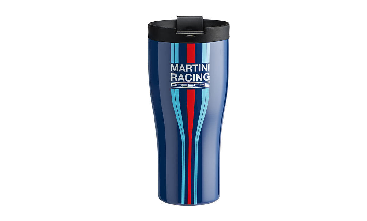 Porsche 944 Martini Racing Travel Mug Thermal Insulating Cup Stainless Steel