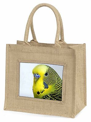 Gelber Wellensittich,Wellensittich Große natürliche jute-einkaufstasche