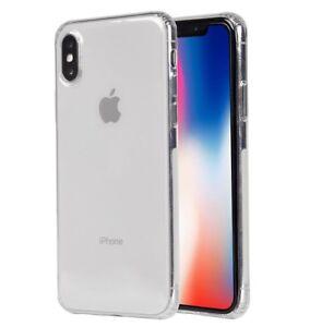 Fuer-iPhone-X-XS-Durchsichtig-Protection-Silikon-Huelle-Schutzhuelle-Case