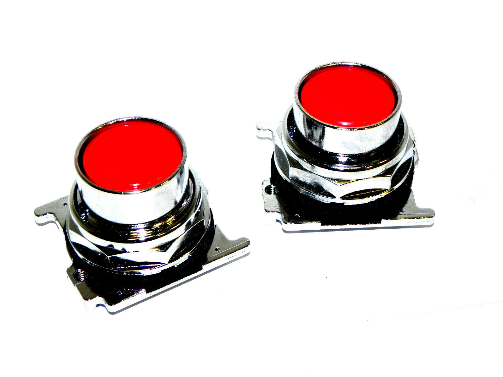 LOT OF 2 NEW CUTLER HAMMER 10250T-102 PUSHBUTTONS 10250T102