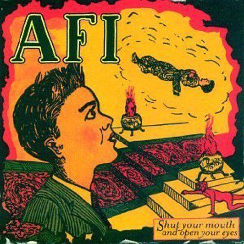 AFI - Shut Your Mouth & Open Your Eyes [New Vinyl] Colored Vinyl, Ltd Ed