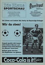 Bayernliga 90/91 TSV 1860 München - SV Lohhof, 29.09.1990
