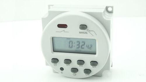 LCD Digital Puissance Minuterie Programmable Interrupteur Horaire//