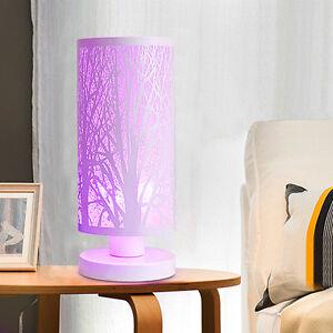 Détails Sur Creative Forêt Lampe De Table Interrupteur Tactile Led Lumières Chevet Clair