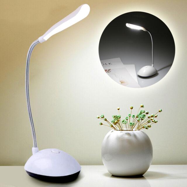 LED Night Light 360 Degree Rotating Eye Protection Desk Table Reading Light HOT