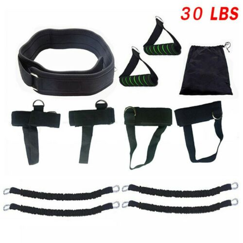 Boxing Thai Gym Strength Training Equip Sport Fitness Resistance Band Exerci Set