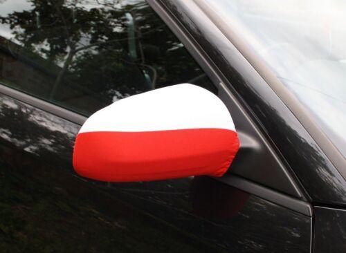 Car Wing Mirror Flag Poland Polish by FreshFlagz