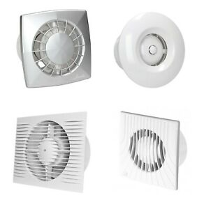 Bathroom Extractor Fans Timer Humidity Sensor Motion