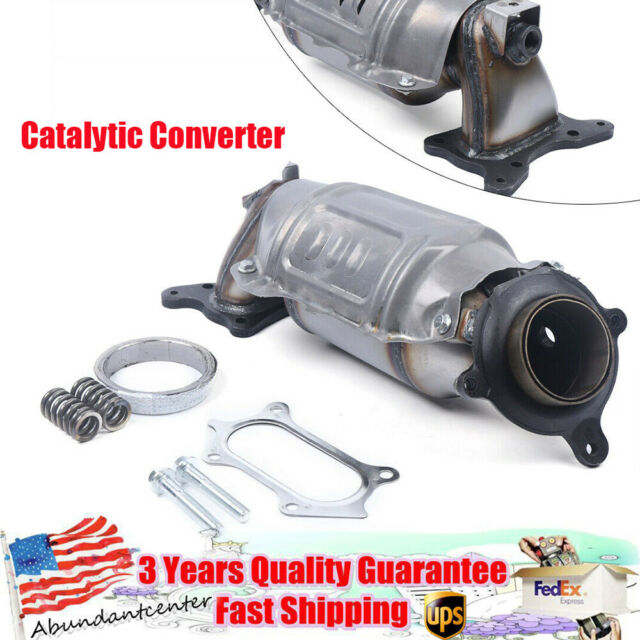 Exhaust Manifold With Integrated Catalytic Converter Fits