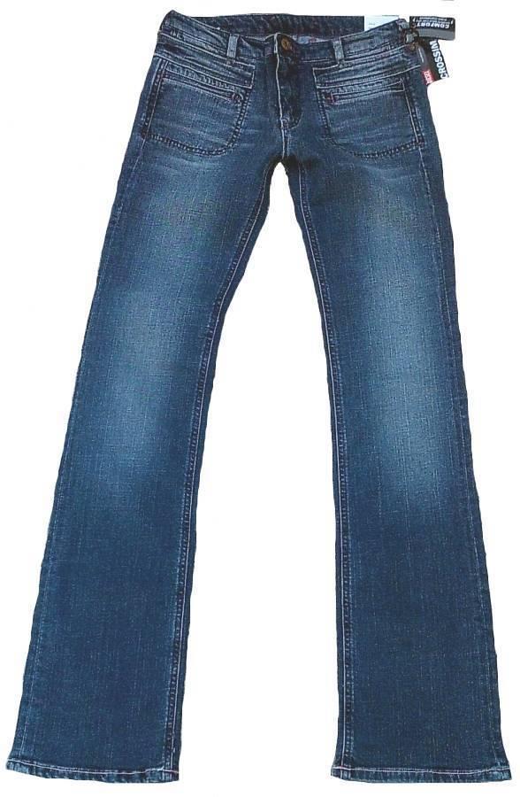 Diesel Crossim Article 0010HI Tissu 0087M Droit Jeans Stretch W26 L32 26 32