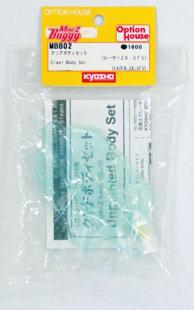Kyosho Mini Z MBB02 Clear Body Set (LAZER ZX-5FS)