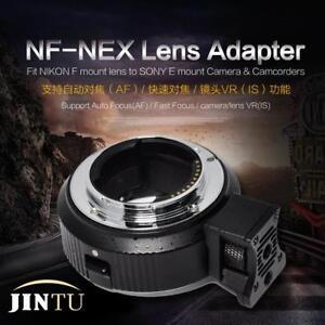 Auto-Focus-Nikon-F-Mount-Lens-to-Sony-E-mount-Adapter-NEX-A7-A7R-A7RIII-A9-A6500