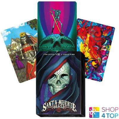 SANTA MUERTE SKULL SATIN BAG PRINTED FOR CARDS LO SCARABEO 160x225 MM NEW