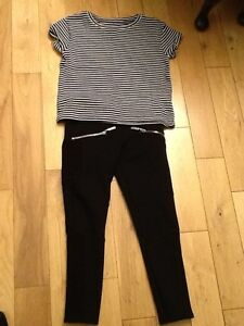 Next-Girls-trousers-with-matching-t-shirt-age-7