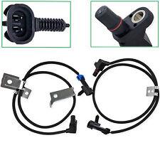 Front Left Amp Right Abs Wheel Speed Sensor For Chevrolet Silverado 1500 2500 Hd Fits 2005 Chevrolet Silverado 2500 Hd Ls