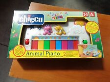 CHICCO ANIMAL PIANO VOCI DI ANIMALI ANNI 2-5 NUOVO VINTAGE ANNI 90