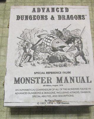 Dungeons and Dragons AD/&D dice box handmade Fiend Folio,1st edition fidget