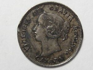VF-1901-Silver-5-Cent-Canadian-Coin-9