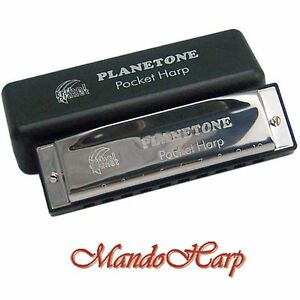Tribal-Planet-Planetone-Harmonica-Pocket-Harp-SELECT-KEY-A-OR-D-ONLY-NEW