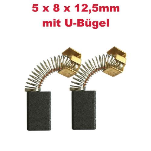 2x Schleifkohle Kohlebürste für Makita Winkelschleifer 9501BH Gradschleifer 906