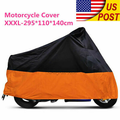 Motorcycle Bike Cover Travel Dust Storage Cover For Harley Street Glide