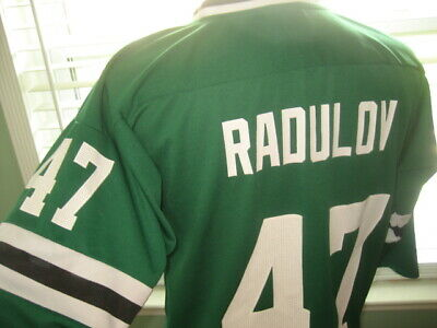 DALLAS STARS ALEXANDER RADULOV SCREENED NHL HOCKEY JERSEY sz YOUTH LARGE | eBay