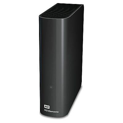 HARD DISK ESTERNO 3,5 USB 3.0 4000GB 4TB WESTERN DIGITAL ELEMENTS