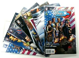 Wildstorm-THE-AMERICAN-WAY-2006-1-2-3-4-6-7-8-LOT-VF-NM-Ships-FREE