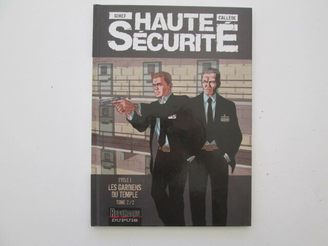 HAUTE SECURITE T2 EO2007 BE/TBE GARDIENS DU TEMPLE 2/2 EDITION ORIGINALE DD1