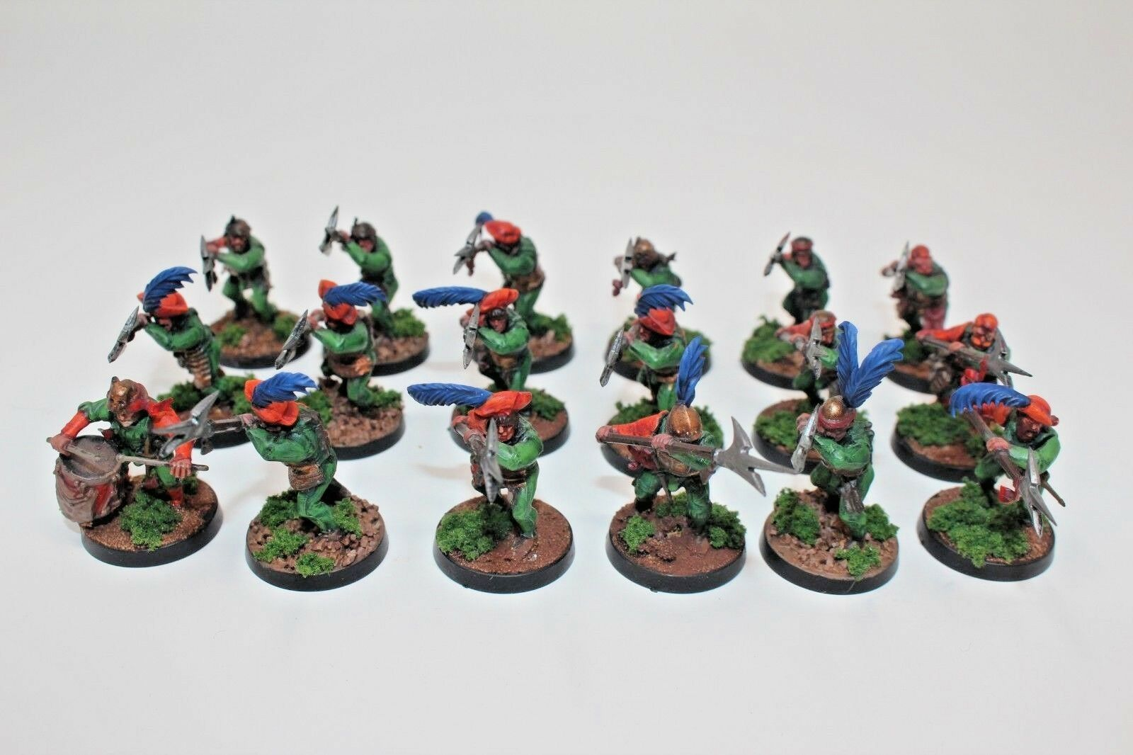 Warhammer Empire Halberds Well Painted - B2