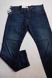Slim € Jeans Ed Val scuro W38 L32 80 120 compatto usato blu Indaco Edwin wqtOqA