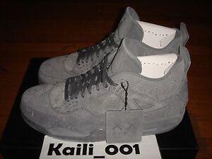 La foto se está cargando Jordan-4-Retro-Kaws-Nike-Air-930155-003-