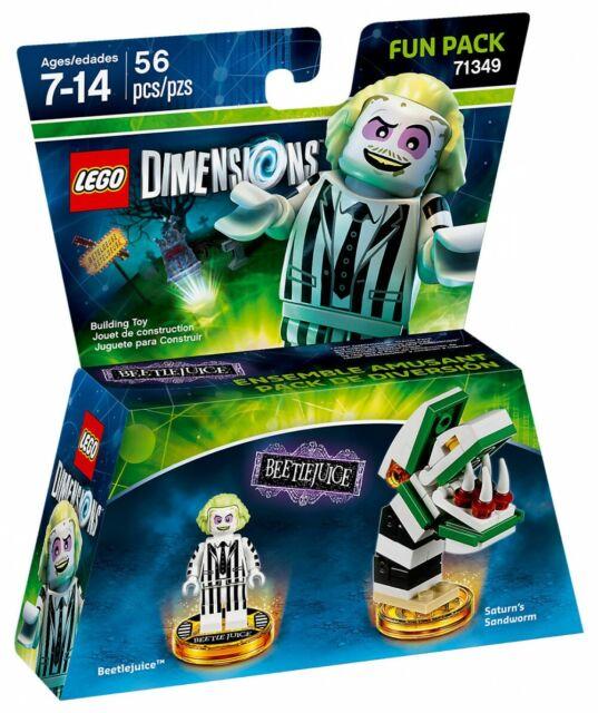 LEGO 71349 DIMENSIONS FUN PACK - BEETLEJUICE / SATURN'S SANDWORM  ++ 100% NEUF