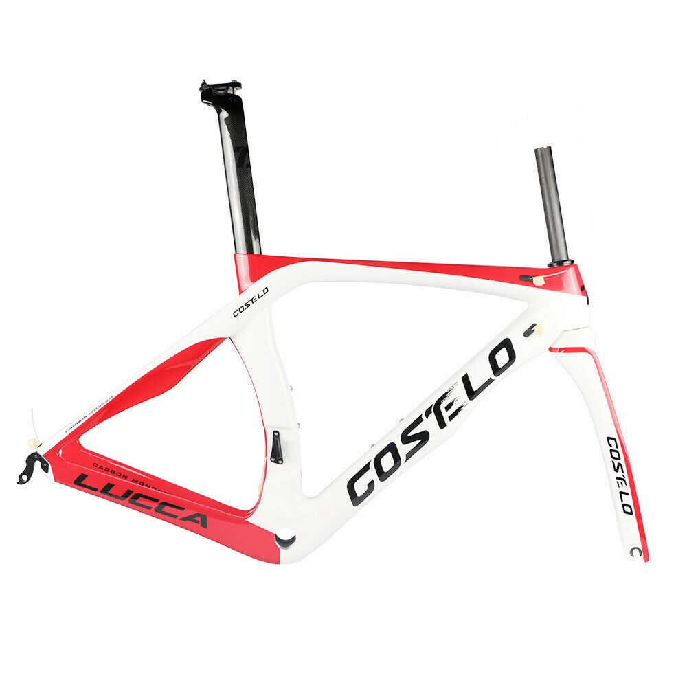 Costelo Lucca RB1K Carbon Bicycle Frame road bike frameset fork clamp seatpost