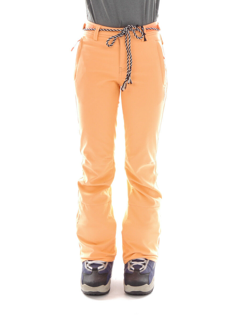 Brunotti Pantalones Esquí Snowboard Softshell Naranja Tavorsy Ajustado