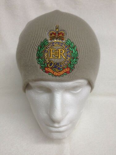 Woolly Turn Up Hat British Army Units Royal Engineers Woolly Beanie