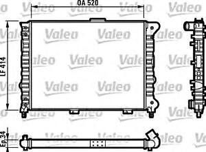 valeo engine cooling radiator fits alfa romeo 156 932 sedan wagon 97 rh ebay com