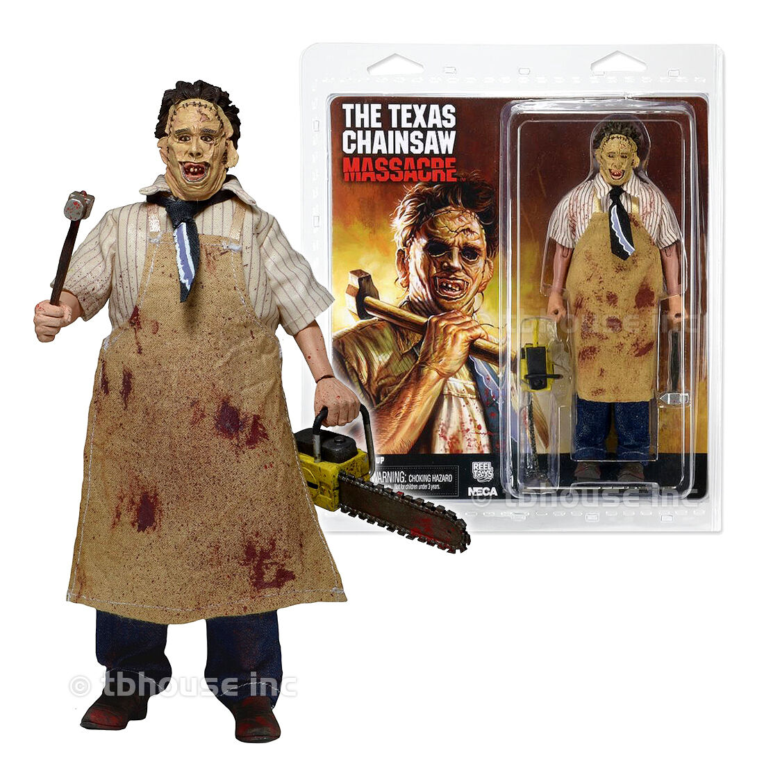 PelleFACE figure RETRO-STYLE CLOTHED neca THE TEXAS CHAINSAW MASSACRE series