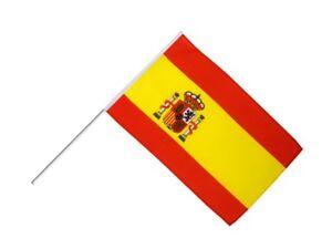 Fahne Flagge aus aller Welt Spanien ohne Wappen 30 x 45 cm ohne Stock