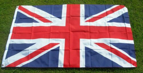 LARGE Union Jack Flag Great Britain British GB Sport Olympics Support 5 X 3FT