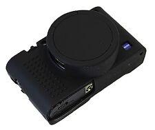 Removable Lens Gel Camera Case For  Sony DSC- RX100M5 / RX100M4 / RX100M3 Black