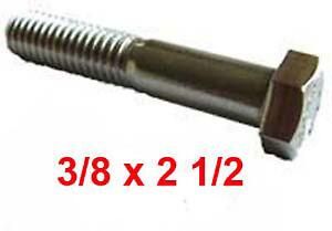 """UNC Hex set viti A4 ACCIAIO INOX Confezione da 10 x 1//4/"""" o 5//16/"""" x 3 1//2/"""""""