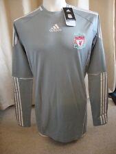 Liverpool 10-12 Techfit Sponsorless Home Goalkeeper Shirt Adidas BNWT (XL)